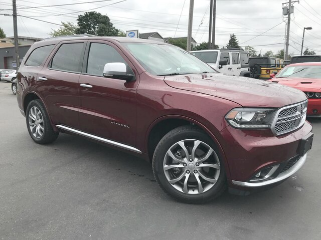 Dodge Suv 2016 >> Certified Pre Owned 2016 Dodge Durango Citadel Awd