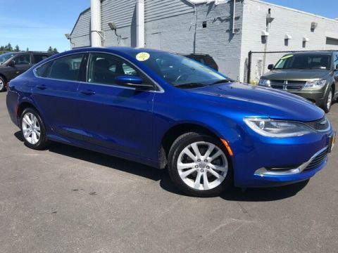 Certified Pre-Owned 2015 Chrysler 200 Limited