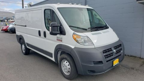 New 2018 RAM ProMaster Low Roof 136 WB