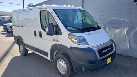 New 2019 RAM ProMaster Low Roof 118 WB